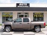 2012 Mocha Steel Metallic Chevrolet Silverado 1500 LT Crew Cab #82389878