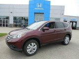 2013 Basque Red Pearl II Honda CR-V EX AWD #82390073