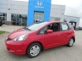 2013 Milano Red Honda Fit  #82390070