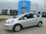 2013 Alabaster Silver Metallic Honda Fit  #82390069