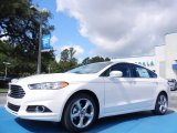 2013 White Platinum Metallic Tri-coat Ford Fusion SE #82446525