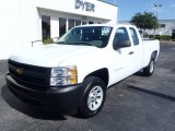2013 Summit White Chevrolet Silverado 1500 Work Truck Extended Cab #82447159