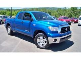 Blue Streak Metallic Toyota Tundra in 2008