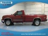 2006 Sport Red Metallic Chevrolet Silverado 1500 Z71 Regular Cab 4x4 #82446511