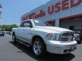 2010 Stone White Dodge Ram 1500 Laramie Crew Cab 4x4 #82446501