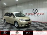 2011 Sandy Beach Metallic Toyota Sienna LE #82446495
