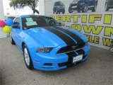 2013 Grabber Blue Ford Mustang V6 Coupe #82446492