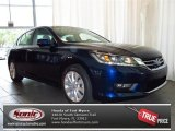 2013 Obsidian Blue Pearl Honda Accord EX-L Sedan #82446400