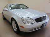 1998 Brilliant Silver Metallic Mercedes-Benz SLK 230 Kompressor Roadster #82446397