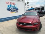 2014 Ruby Red Ford Mustang V6 Coupe #82446483