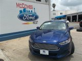 2013 Deep Impact Blue Metallic Ford Fusion SE #82446481