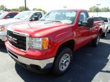2013 Fire Red GMC Sierra 3500HD Regular Cab 4x4 #82446900