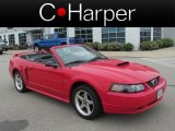 2003 Torch Red Ford Mustang GT Convertible #82446385