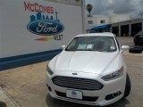 2013 White Platinum Metallic Tri-coat Ford Fusion SE 1.6 EcoBoost #82446471