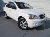 2009 Clear White Kia Sorento LX #82446679