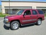 2004 Sport Red Metallic Chevrolet Tahoe LS 4x4 #82446988