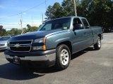 2007 Blue Granite Metallic Chevrolet Silverado 1500 Classic LS Extended Cab #82447089