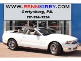 2011 Performance White Ford Mustang V6 Premium Convertible #82446864