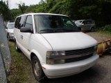 Ivory White Chevrolet Astro in 2000