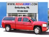 2008 Victory Red Chevrolet Silverado 1500 LT Extended Cab 4x4 #82446862