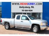 2013 Silver Ice Metallic Chevrolet Silverado 1500 LT Extended Cab 4x4 #82446860