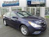 2013 Indigo Night Blue Hyundai Sonata GLS #82446344