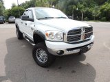 2008 Bright White Dodge Ram 3500 Big Horn Edition Quad Cab 4x4 #82446757
