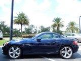 2013 Mercedes-Benz SLK Lunar Blue Metallic