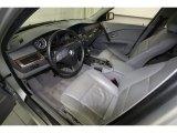 2007 BMW 5 Series Interiors