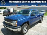 2004 Arrival Blue Metallic Chevrolet Silverado 1500 LS Extended Cab 4x4 #82446642