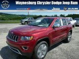2014 Deep Cherry Red Crystal Pearl Jeep Grand Cherokee Limited 4x4 #82446638