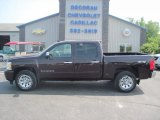 Dark Cherry Metallic Chevrolet Silverado 1500 in 2008