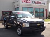 2011 Taupe Gray Metallic Chevrolet Silverado 1500 Regular Cab #82500704