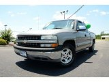2000 Light Pewter Metallic Chevrolet Silverado 1500 LS Extended Cab #82500799