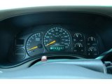 2000 Chevrolet Silverado 1500 LS Extended Cab Gauges