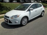 2012 Oxford White Ford Focus SEL 5-Door #82500454