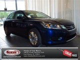 2013 Obsidian Blue Pearl Honda Accord LX Sedan #82500334