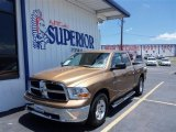 2012 Saddle Brown Pearl Dodge Ram 1500 SLT Quad Cab #82500450