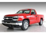 2007 Victory Red Chevrolet Silverado 1500 Classic Work Truck Regular Cab #82501119