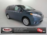 2013 Shoreline Blue Pearl Toyota Sienna Limited AWD #82500783