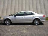 2002 Brilliant Silver Metallic Chrysler Sebring LXi Sedan #82500976