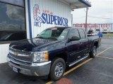 2012 Imperial Blue Metallic Chevrolet Silverado 1500 LS Extended Cab #82500436