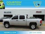 2011 Sheer Silver Metallic Chevrolet Silverado 1500 LS Crew Cab 4x4 #82500901