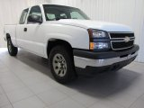 2006 Summit White Chevrolet Silverado 1500 Work Truck Extended Cab 4x4 #82500775