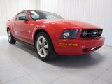 2007 Torch Red Ford Mustang V6 Deluxe Coupe #82500771