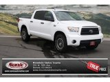 2010 Super White Toyota Tundra TRD Rock Warrior CrewMax 4x4 #82500288
