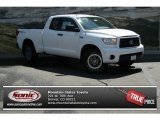 2013 Super White Toyota Tundra TRD Rock Warrior Double Cab 4x4 #82500282