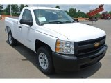 2013 Summit White Chevrolet Silverado 1500 Work Truck Regular Cab #82500840