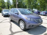 2013 Twilight Blue Metallic Honda CR-V EX AWD #82554308