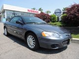 2002 Steel Blue Pearl Chrysler Sebring LX Convertible #82553854